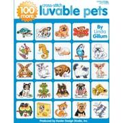 """Leisure Arts LA-4413 """"100 More Cross Stitch Luvable Pets"""""""