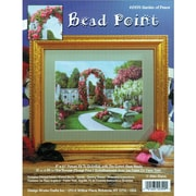"Tobin DW2399 Multicolor 10"" x 8"" Bead Point Kit, Garden Of Peace"