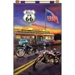 """Tobin DW9655 Multicolor 24"""" x 16"""" Jeweled Banner Kit, Route 66"""