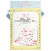 """Chronicle Books CH-66965 Multicolor 12"""" x 8.5"""" Baby Bib Embroidery Kit"""