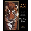 """M C G Textiles 37768 Multicolor 44"""" x 22"""" Prowling Tiger Latch Hook Kit"""