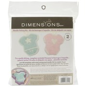 Dimensions 72-73910 Multicolor Feltworks Learn Needle Felting Kit, Baby