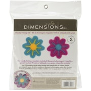 Dimensions 72-73915 Multicolor Feltworks Learn Needle Felting Kit, Flowers