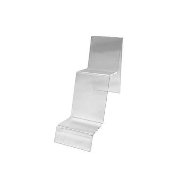 Futech – Support d'affichage en acrylique CTS0139, 6 ½ po x 3 po x 7 po, transparent, paq./10
