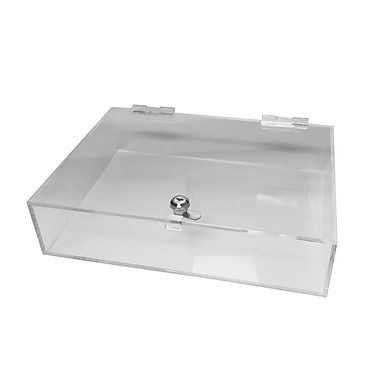 Futech JBOX26 Locking Counter Acrylic Tray, 4