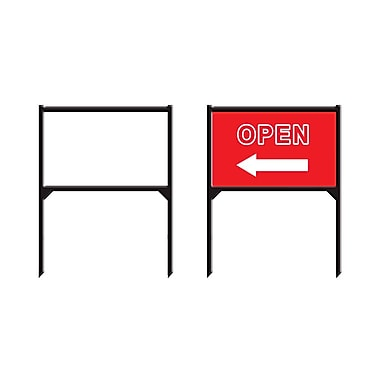 Futech LS005 Metal Lawn Frame Sign Holder, 36