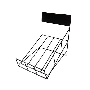 Futech NDR001R Countertop Newspaper Rack, 16