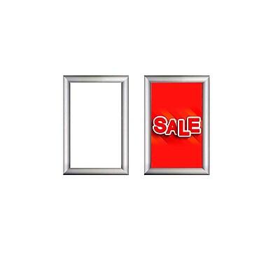 Futech SFM002 Mitered Corner Snap Frame Sign Holder, 12-1/2