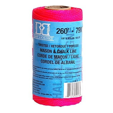 Barry & Boulerice Pink Mason/Chalk Line