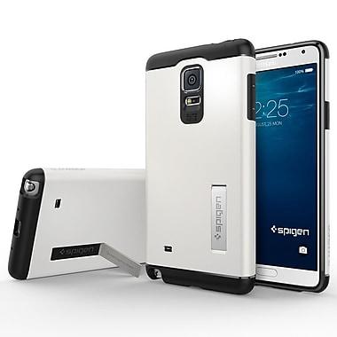 Spigen – Étui Slim Armor pour Samsung Galaxy Note 4, blanc étincelant