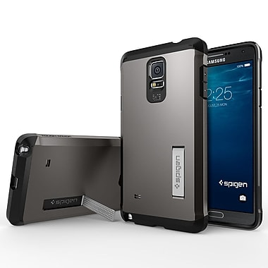 Spigen Tough Armor Case for Samsung Galaxy Note 4, Gunmetal