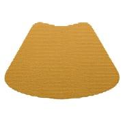 Kraftware Fishnet Wedge Placemat; Golden