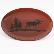 DEI Woodland River 13.5'' Oval Platter