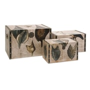 IMAX At the Beach 3 Piece Trunk Set