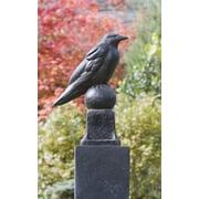 Campania International, Inc Raven Statue; Terra Nera