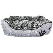MyDog'sBoutique Cabana Lounger Dog Bed; Gray