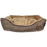 MyDog'sBoutique Cabana Lounger Dog Bed; Brown