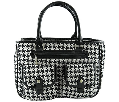 MyDog'sBoutique Houndstooth Pet Carrier
