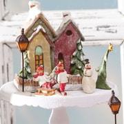 Cypress Holiday Village Cottage Centerpiece