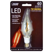 FeitElectric 40W 120-Volt Flame Tip LED Light Bulb