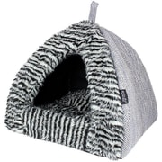 MyDog'sBoutique Cabana House Dog Bed; Gray