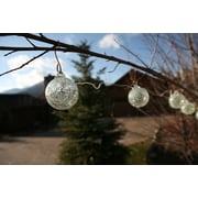 Allsop Home and Garden Aurora Glow Solar 6 Light String Light; Clear With White LED