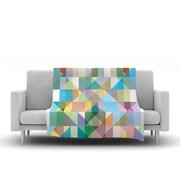 KESS InHouse Graphic 74 by Mareike Boehmer Fleece Throw Blanket; 80'' H x 60'' W x 1'' D