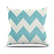 KESS InHouse Salt Water Cure Outdoor Throw Pillow; 20'' H x 20'' W x 4'' D