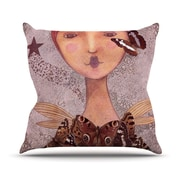 KESS InHouse Prudence by Suzanne Carter Portrait Throw Pillow; 16'' H x 16'' W x 3'' D