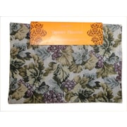 Textiles Plus Inc. Tapestry Grape Placemat (Set of 4)