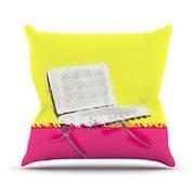 KESS InHouse Barcelona Chair by Oriana Cordero Throw Pillow; 16'' H x 16'' W x 3'' D