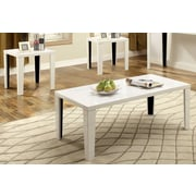 Hokku Designs Enichi 3 Piece Coffee Table Set; White