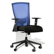 Jesper Office Hanna High-Back Mesh Task Chair; Blue