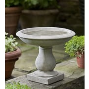 Campania International, Inc Beauvoir Birdbath; Alpine Stone