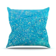 KESS InHouse Mermaid Sparkles by Beth Engel Throw Pillow; 20'' H x 20'' W x 1'' D