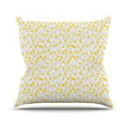 KESS InHouse Lemon Drop by Julie Hamilton Throw Pillow; 18'' H x 18'' W x 3'' D