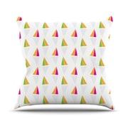 KESS InHouse Apple Kaur Designs Throw Pillow; 18'' H x 18'' W x 3'' D