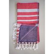 Antiochia Alya Bath Towel; Red