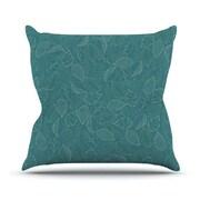 KESS InHouse Autumn Leaves by Emma Frances Throw Pillow; 26'' H x 26'' W x 1'' D