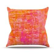 KESS InHouse Wiggle by CarolLynn Tice Throw Pillow; 26'' H x 26'' W x 1'' D