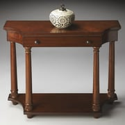 Butler Hobson Console Table; Cherry