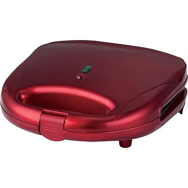 Brentwood Waffle Maker; Red