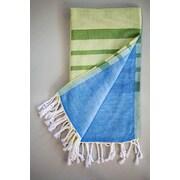 Antiochia Alya Bath Towel; Lime Green