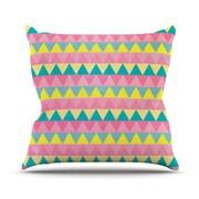 KESS InHouse Louise Machado Throw Pillow; 18'' H x 18'' W x 3'' D