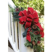 Floral Home Decor Holiday Pine and Berry Garland