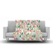 KESS InHouse Graphic 75 by Mareike Boehmer Fleece Throw Blanket; 60'' H x 50'' W x 1'' D