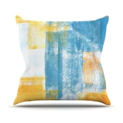 KESS InHouse Color Combo by CarolLynn Tice Cotton Throw Pillow; 20'' H x 20'' W x 1'' D