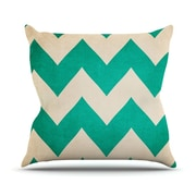 KESS InHouse 2013 by Catherine McDonald Chevron Throw Pillow; 18'' H x 18'' W x 1'' D