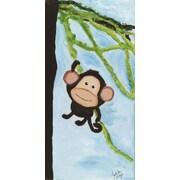 Judith Raye Paintings One Swinging Monkey by Judith Raye Original Painting Print