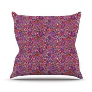 KESS InHouse My Dreams in Color by Julia Grifol Stars Throw Pillow; 20'' H x 20'' W x 4'' D